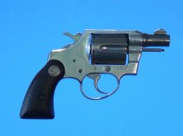 Colt Agent 38 chrome