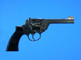 Enfield revolver chrome